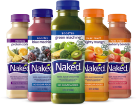 Naked Juices - Fruit and Veggie Juices